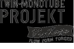 Logo Twin Montube Projekt Vintage